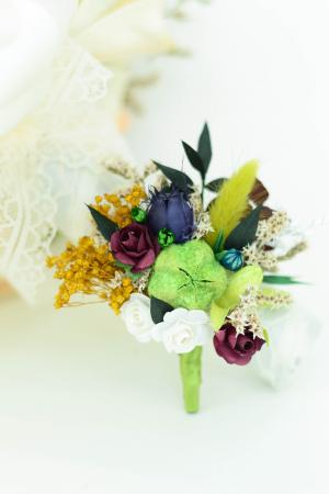 Cocardă nuntă1