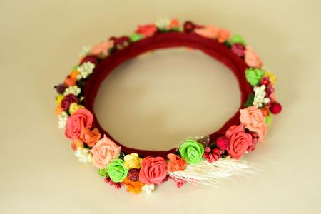 Coroniță flori1
