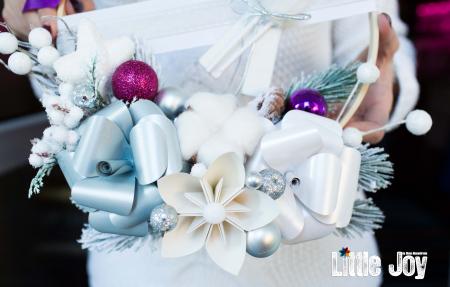 Coroniță Crăciun - Mov1