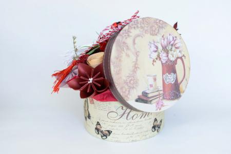 Cutie - Flori hârtie [2]