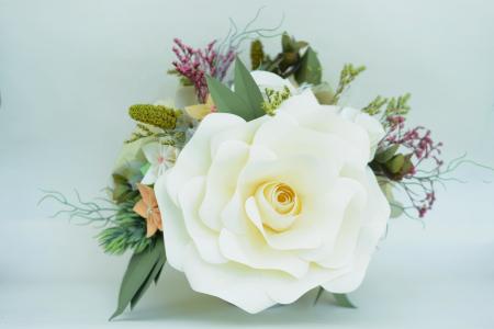 Decor masă - Ghiveci - Flori gigant0