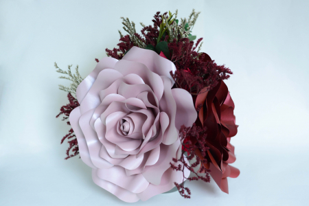 Decor masă - Ghiveci - Flori gigant4