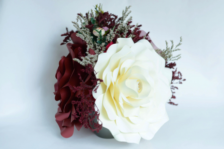 Decor masă - Ghiveci - Flori gigant3