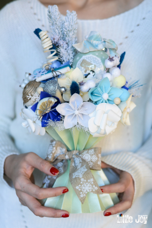Decorațiune Crăciun - Bleu0