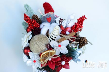 Decorațiune Crăciun - Roșu2