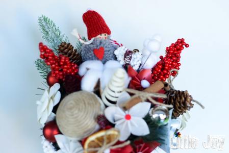 Decorațiune Crăciun - Roșu1