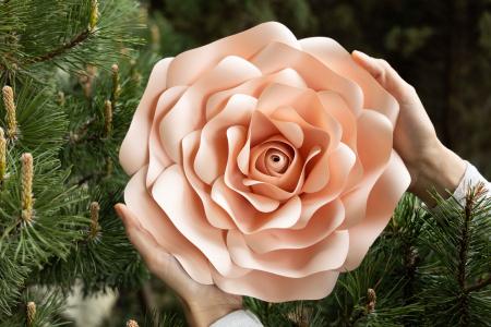 Floare model Rose S - 28 cm2