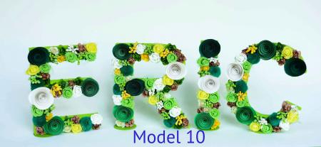 Litere decorate - Băieței9
