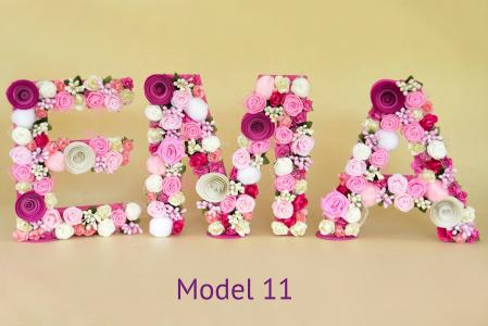 Litere decorate - Fetițe10