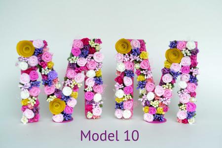 Litere decorate - Fetițe9