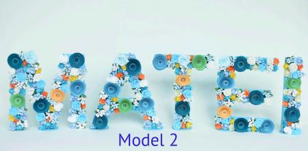 Litere decorate - Băieței1