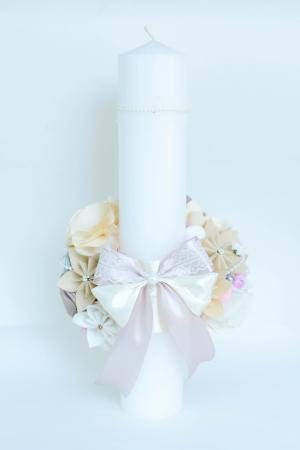Lumânare botez personalizată - Bijuterii2