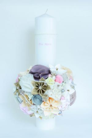 Lumânare botez personalizată - Bijuterii0