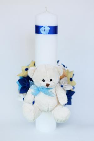 Lumânare botez - Ursuleț Pluș2