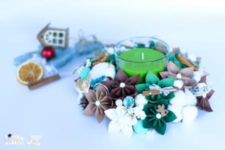Lumânare Crăciun - Parfumată0