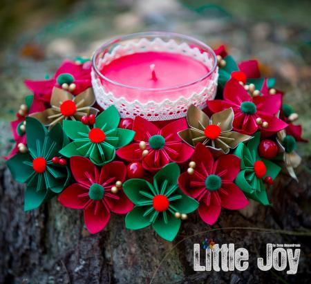 Lumânare Crăciun - Parfumată3