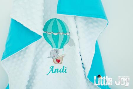 Păturică personalizată - Andi1