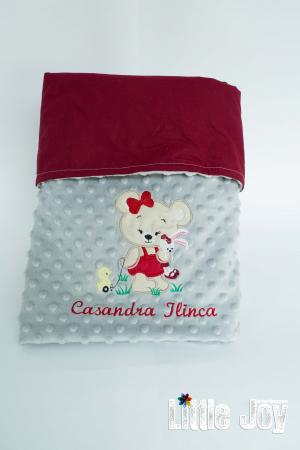 Păturică personalizată - Casandra2