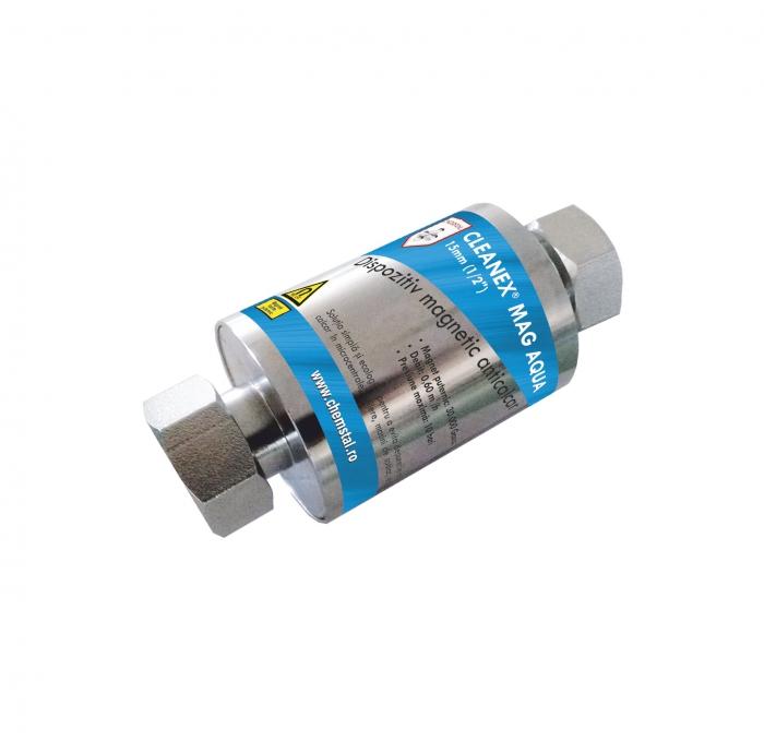 """CLEANEX MAG AQUA 1/2"""" (15mm) - Dispozitiv magnetic anticalcar, CHEMSTAL, cod:LBXCLMA015 [0]"""