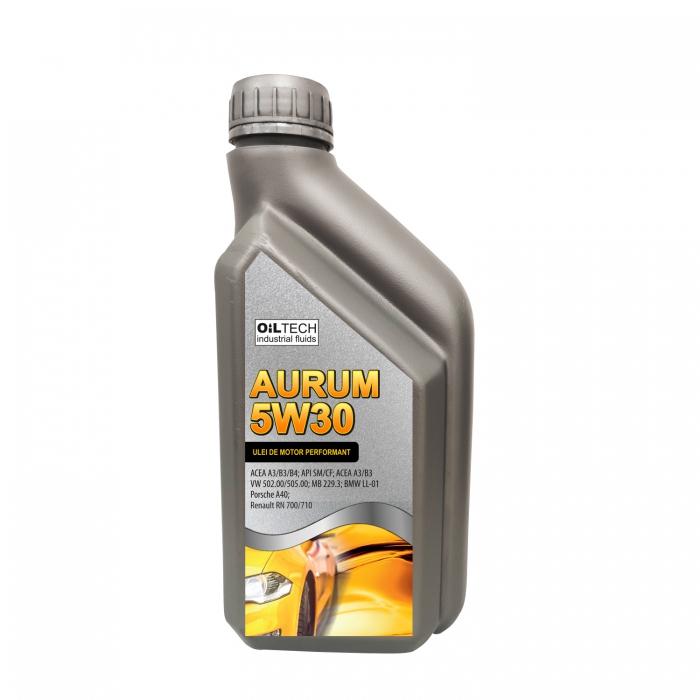 Aurum 5W30-Ulei de motor autoturisme, OILTECH, 1L [0]