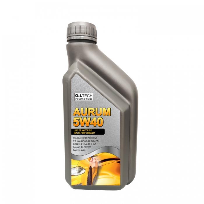 Aurum 5W40-Ulei de motor autoturisme, OILTECH, 1 L 0