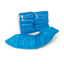 Botosei unica folosinta-Acoperitori pantofi 100 bucati/set albastru [0]