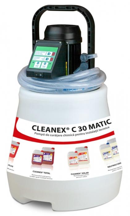 CLEANEX C30 MATIC - Pompa de curatare chimica pentru instalatii termice, CHEMSTAL 0