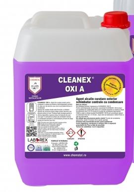 CLEANEX OXI A - Agent alcalin curatare exterior schimbator centrale cu condensare, CHEMSTAL, 5KG, cod:LBXCLOA005 [0]