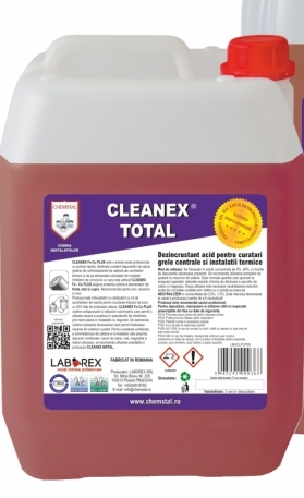 CLEANEX TOTAL - Dezincrustant acid instalatie termica, CHEMSTAL, 5KG, cod:LBXCLTT005 [0]