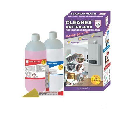 CLEANEX ANTICALCAR - Pachet curatare centrale termice, CHEMSTAL, cod: LBXATCL002 [0]