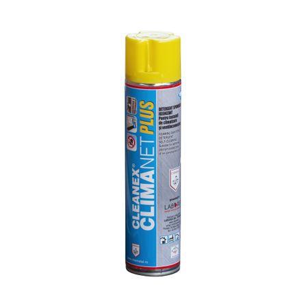 CLEANEX CLIMANET PLUS - Spray detergent spumogen pentru curatarea aparaului de aer conditionat, CHEMSTAL, 600ml, cod:CLINET0600 0