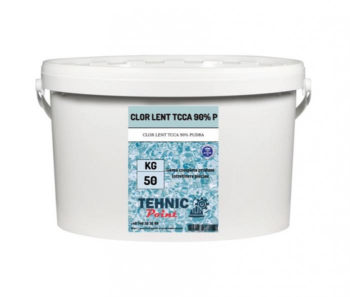 Clor lent TCCA 90% granular pudra 50kg [0]