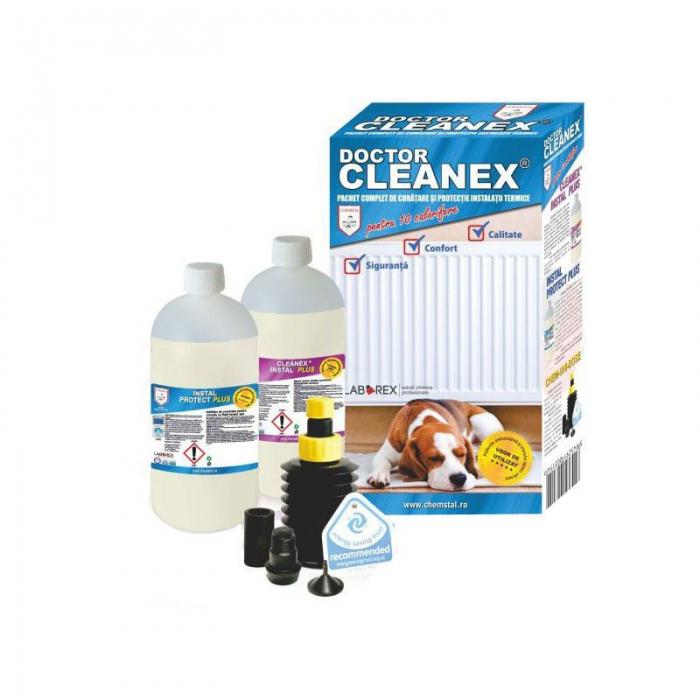DOCTOR CLEANEX - Pachet intretinere instalatie incalzire cu calorifere, CHEMSTAL, cod: LBXDRCL002 [0]