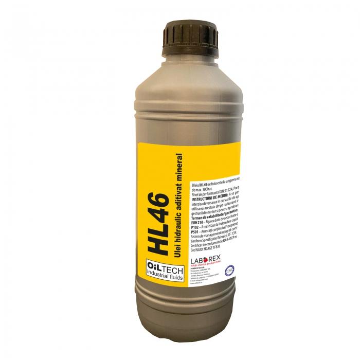 HL46 - Ulei hidraulic aditivat, OILTECH, 1L [0]