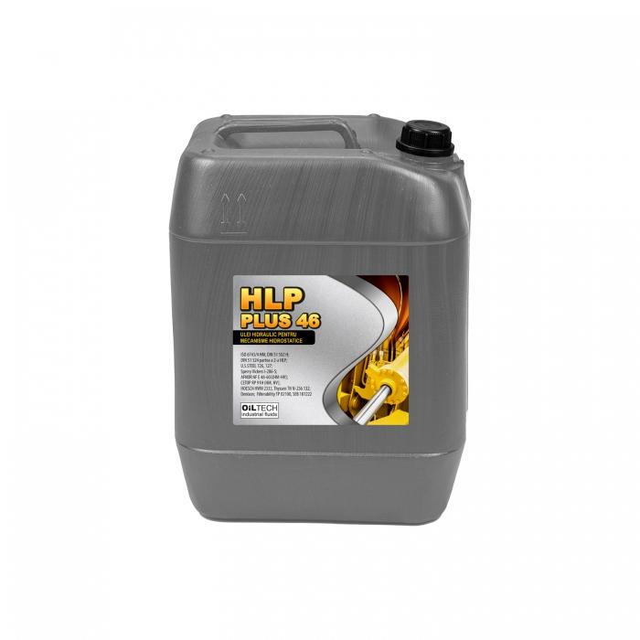HLP PLUS 46 - Ulei hidraulic pentru mecanisme hidrostatice, OILTECH, 20L 0