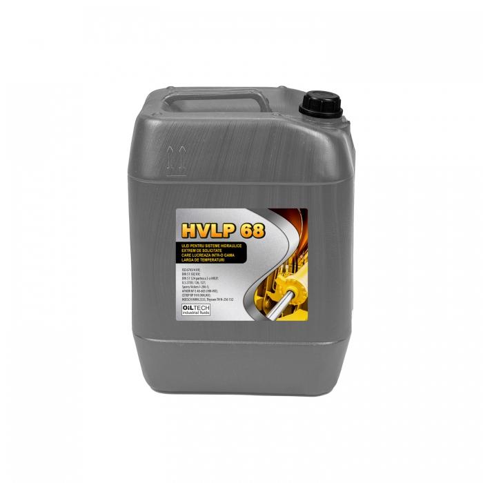 HVLP 68 - Ulei pentru sisteme hidraulice extrem de solicitate, OILTECH, 20L 0