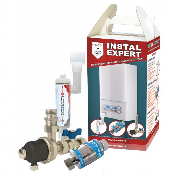 INSTAL EXPERT - Pachet complet pentru protectia instalatiei termice, CHEMSTAL, cod: LBXNEX003 [0]
