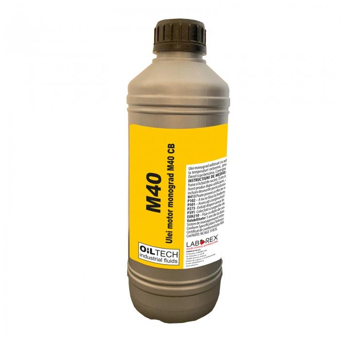 M40 - Ulei monograd pentru motoare, OILTECH, 1L 0