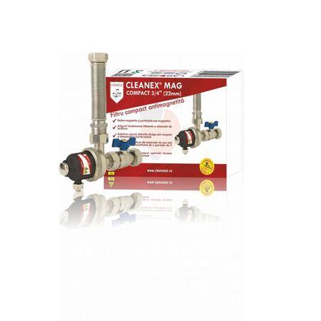 CLEANEX MAG COMPACT - Filtru antimagnetita compact pentru instalatia termica, CHEMSTAL, cod:LBXMCOM022 [0]
