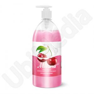 Mialana-sapun lichid cu dispenser aroma cirese 1l Cod: 126401 [0]