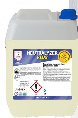 NEUTRALYZER PLUS Neutralizant pasivizant lichid pentru solutii acide, CHEMSTAL, 5KG, cod:LBXNTLP005 [0]