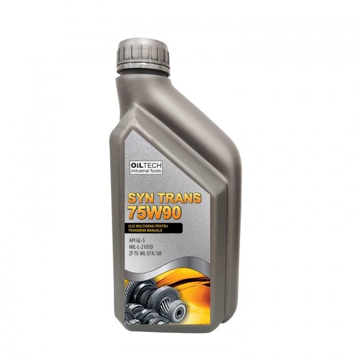 SYN TRANS 75W90 - Ulei multigrad pentru transmisii manuale, OILTECH, 1L [0]