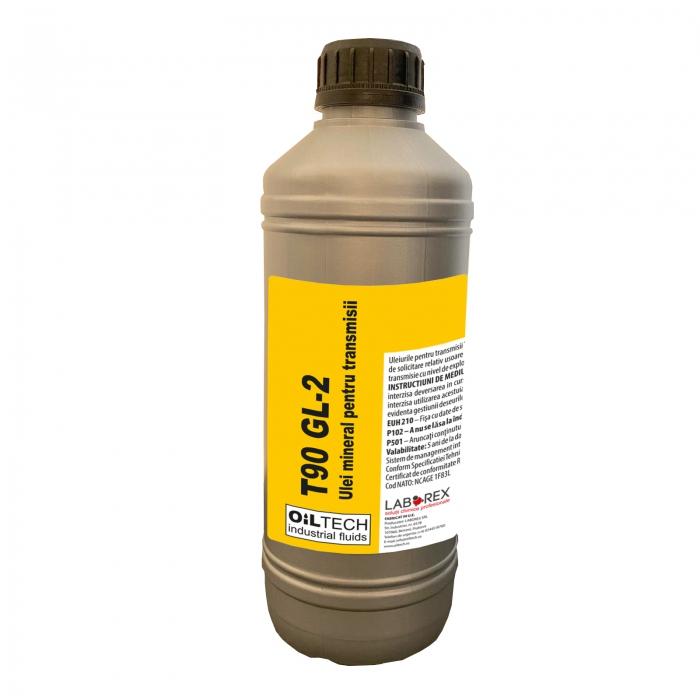 T90 GL2 - Ulei monograd de transmisie auto, OILTECH, 1L 0