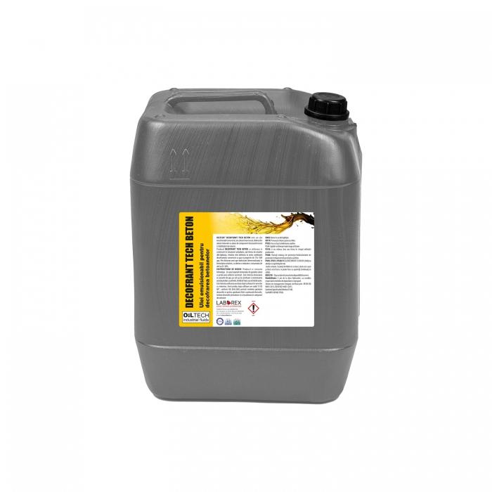 TECH BETON - Ulei emulsionabil pentru decofrarea betoanelor, OILTECH, 20L 0