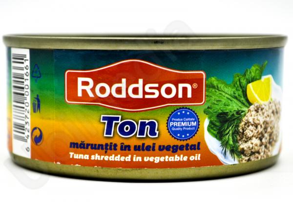 Ton-maruntit-in-ulei-vegetal-Roddson-160g 0