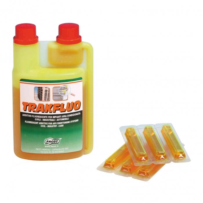 TRAKFLUO - Aditiv fluorescent pentru identificare pierderi agent de refrigerare, CHEMSTAL, flacon 250ml, cod:TRALFLUO0250 [0]