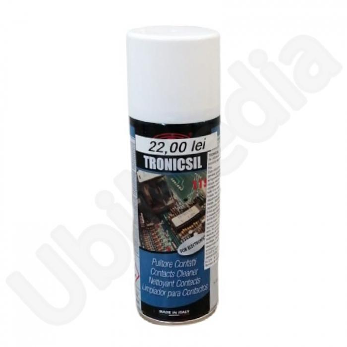 TRONICSIL- spray curatare contacte (pentru electronica) 200 ml 0