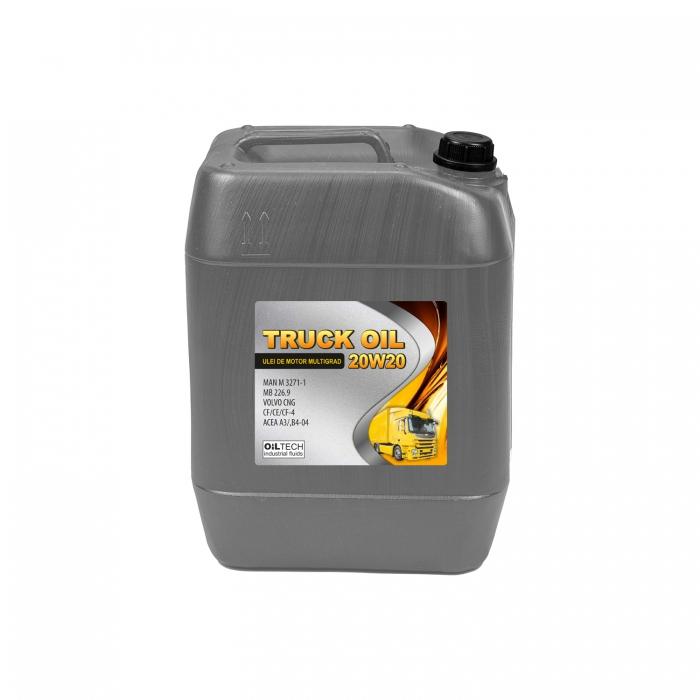 Truck Oil 20W20-Ulei de motor multigrad, OILTECH, 20L 0