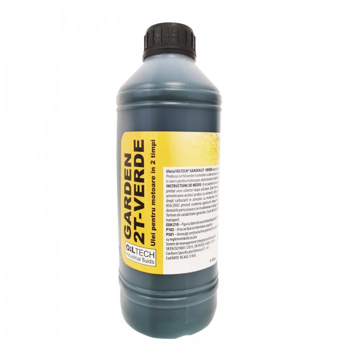Produsul se foloseste in amestec cu benzina in proportie ulei-benzina 1:50 si este destinat pentru domeniul agricol si casnic in motocoase, atomizoare, motofierastraie si la auto cu motoare in 2 timpi. [0]