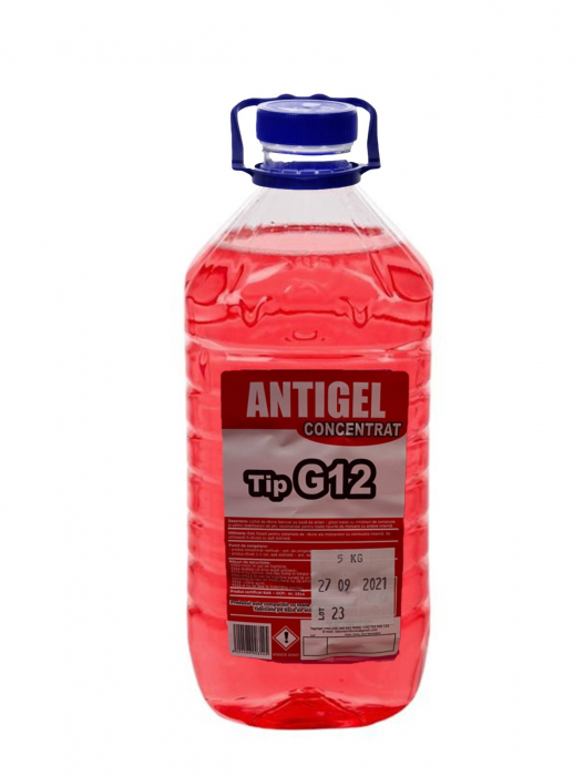 Antigel concentrat  -30°C G12(rosu) PET 5L [0]